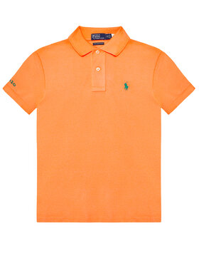 Polo Ralph Lauren Polo Ralph Lauren Pólóing The Earth 323780773011 Narancssárga Regular Fit
