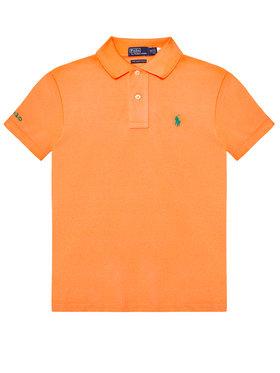 Polo Ralph Lauren Polo Ralph Lauren Polokošeľa The Earth 323780773011 Oranžová Regular Fit