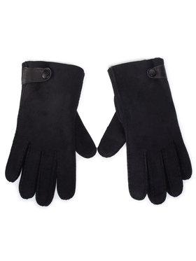 Ugg Ugg Мъжки ръкавици M Sheepskin Side Tab Tech Glv 18713 Черен