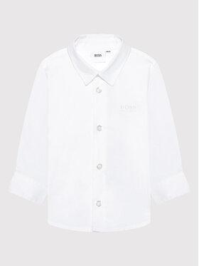 Boss Boss Πουκάμισο J05903 M Λευκό Regular Fit