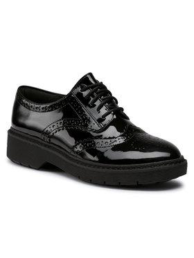Clarks Clarks Oxford cipők Witcombe Echo 261549374 Fekete