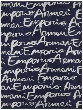 Emporio Armani Emporio Armani Ręcznik 262583 0P328 19934 Granatowy