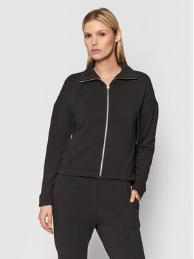 Triumph Triumph Суитшърт Thermal 10209582 Черен Relaxed Fit