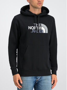 The North Face The North Face Pulóver Drew Peak NF00AHJYKX7 Fekete Regular Fit