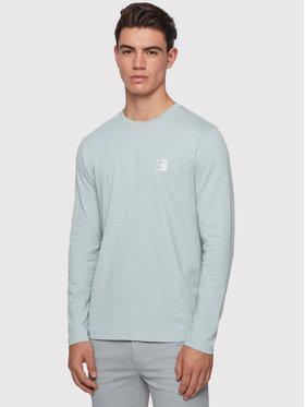 Boss Boss Marškinėliai ilgomis rankovėmis Tacks 50393629 Mėlyna Regular Fir