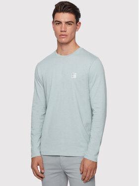 Boss Boss Тениска с дълъг ръкав Tacks 50393629 Син Regular Fir