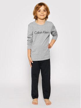 Calvin Klein Underwear Calvin Klein Underwear Pižama Ls Knit Set B70B700052 D Pilka Regular Fit