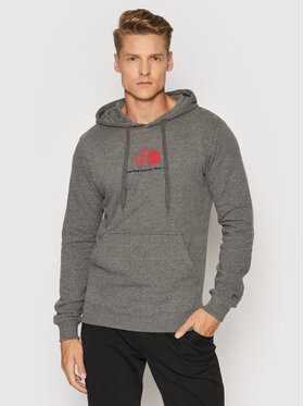The North Face The North Face Pulóver New Climb NF0A55GTDYY1 Szürke Regular Fit
