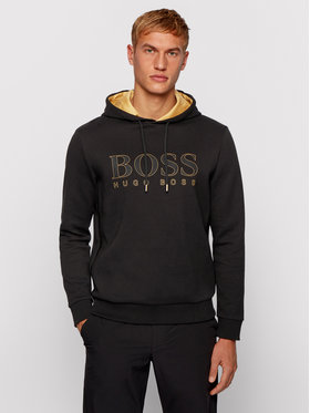 Boss Boss Mikina Soody 2 50451214 Čierna Regular Fit