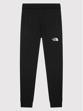 The North Face The North Face Долнище анцуг Fleece NF0A2WAIKY41 Черен Regular Fit
