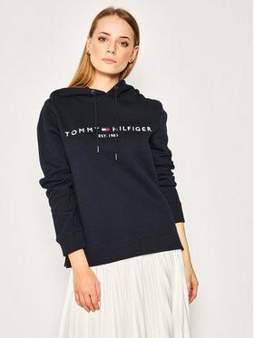 TOMMY HILFIGER TOMMY HILFIGER Sweatshirt Ess WW0WW26410 Bleu marine Regular Fit