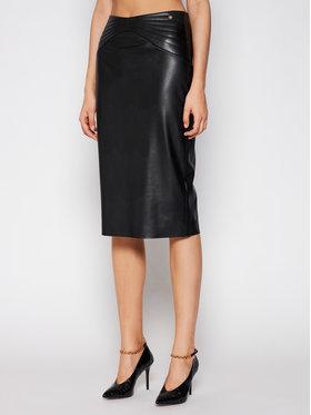 Liu Jo Liu Jo Suknja od imitacije kože CA1059 E0641 Crna Slim Fit