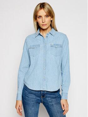 Lee Lee cămașă de blugi Western L45SZSNJ Albastru Regular Fit