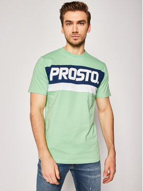 PROSTO. PROSTO. T-Shirt KLASYK Zone 8653 Grün Regular Fit