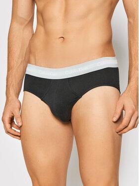 Calvin Klein Underwear Calvin Klein Underwear 3er-Set Slips 0000U2661G Schwarz