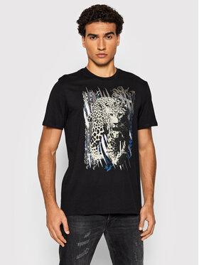 Guess Guess T-Shirt MBBI45 K8FY2 Černá Regular Fit
