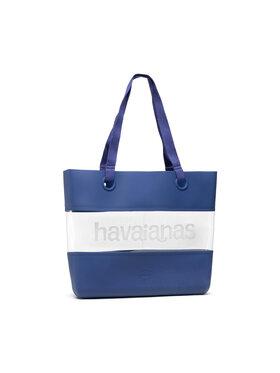 Havaianas Havaianas Τσάντα Beach Bag Dna 41445040555 Σκούρο μπλε
