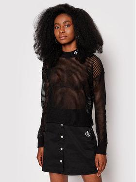 Calvin Klein Jeans Calvin Klein Jeans Sveter J20J215468 Čierna Regular Fit