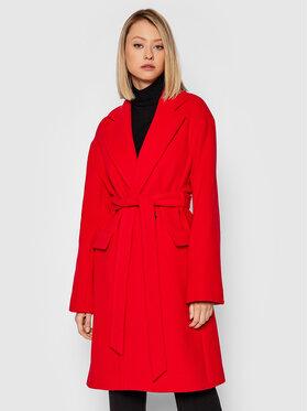 Pinko Pinko Gyapjú kabát Giacomino 1 1G16S0 Y7E3 Piros Regular Fit