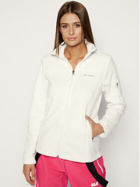 Columbia Columbia Fliso džemperis Fast Trek EL6081 Balta Regular Fit