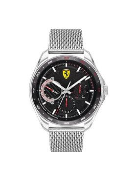 Scuderia Ferrari Scuderia Ferrari Zegarek Speedracer 0830684 Srebrny
