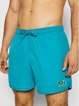 EA7 Emporio Armani EA7 Emporio Armani Pantaloncini da bagno 902051 1P730 20532 Verde Regular Fit