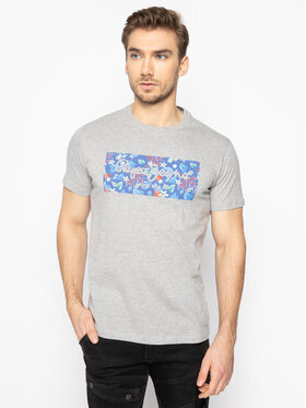 Pepe Jeans Pepe Jeans T-Shirt Morton PM507176 Grau Regular Fit