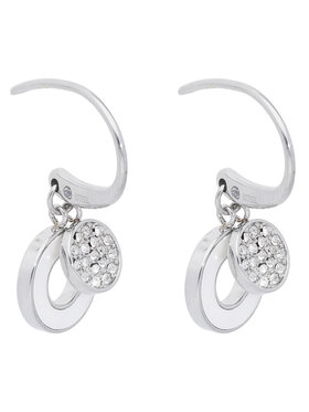 Fossil Fossil Boucles d'oreilles Summer Circles JF03140040 Argent