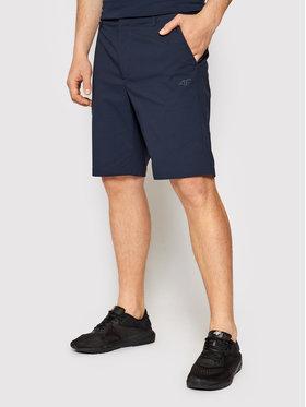 4F 4F Sportske kratke hlače H4L21-SKMF081 Tamnoplava Regular Fit