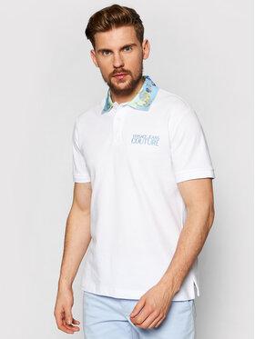 Juicy Couture Black Label Juicy Couture Black Label Тениска с яка и копчета B3GWA7T5 Бял Regular Fit