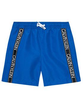 Calvin Klein Swimwear Calvin Klein Swimwear Плувни шорти Logo Tape B70B700301 Син Regular Fit