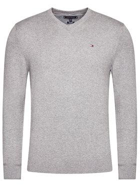 TOMMY HILFIGER TOMMY HILFIGER Sweater Pima MW0MW11673 Szürke Regular Fit
