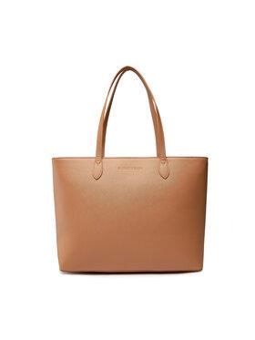 Silvian Heach Silvian Heach Rankinė Shopper Bag (Saffiano) Aspekt RCA21012BO Smėlio