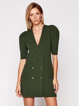 Elisabetta Franchi Elisabetta Franchi Φόρεμα υφασμάτινο AM-66Q-06E2-V549 Πράσινο Regular Fit