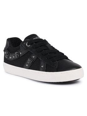 Geox Geox Sneakersy J Kilwi G. A J02D5A 01085 C9999 M1 Czarny
