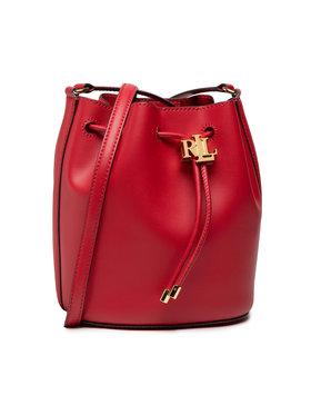 Lauren Ralph Lauren Lauren Ralph Lauren Дамска чанта Andie Drawstring Bag 431837534003 Червен