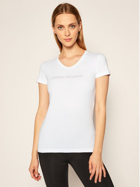 Emporio Armani Underwear Emporio Armani Underwear Marškinėliai 163321 0A263 00010 Balta Regular Fit