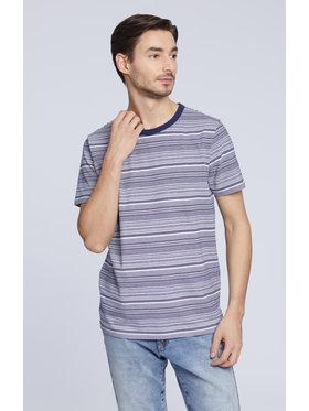Vistula Vistula T-Shirt Nuka XA1048 Granatowy Regular Fit