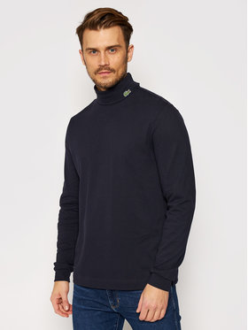 Lacoste Lacoste Sweter UH2421 Granatowy Regular Fit