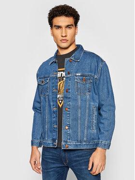 Wrangler Wrangler Giacca di jeans Heritage W4364933V Blu scuro Regular Fit