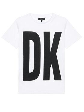 DKNY DKNY Každodenné šaty D32777 D Biela Regular Fit