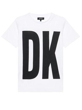 DKNY DKNY Kleid für den Alltag D32777 D Weiß Regular Fit