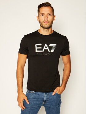 EA7 Emporio Armani EA7 Emporio Armani T-Shirt 6HPT81 PJM9Z 0200 Černá Regular Fit