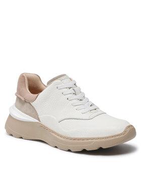 Clarks Clarks Sneakersy SprintLiteLace 261583684 Biały