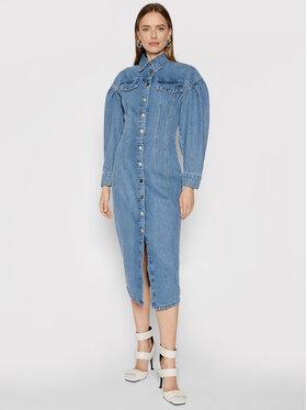 Remain Remain Sukienka jeansowa Edinisa RM530 Niebieski Regular Fit