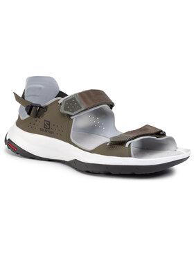 Salomon Salomon Basutės Tech Sandal Feel 409143 28 M0 Žalia