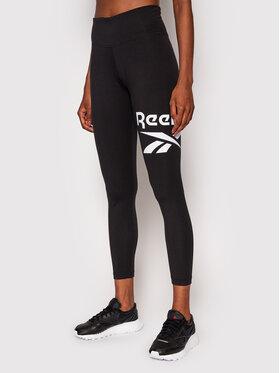 Reebok Reebok Leggings Identity Logo GL2547 Nero Slim Fit