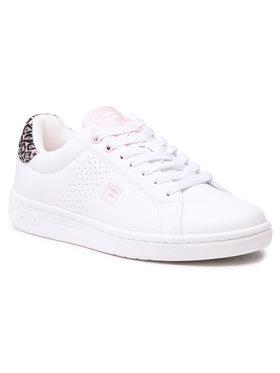 Fila Fila Sneakersy Crosscourt 2 Nt Kids 1011115.94K Biela