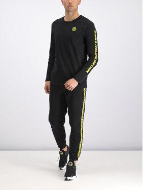 MCQ Alexander McQueen MCQ Alexander McQueen Marškinėliai ilgomis rankovėmis 463570 RNT03 1000 Juoda Regular Fit