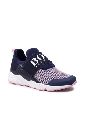 Boss Boss Sneakersy J19059 D Granatowy